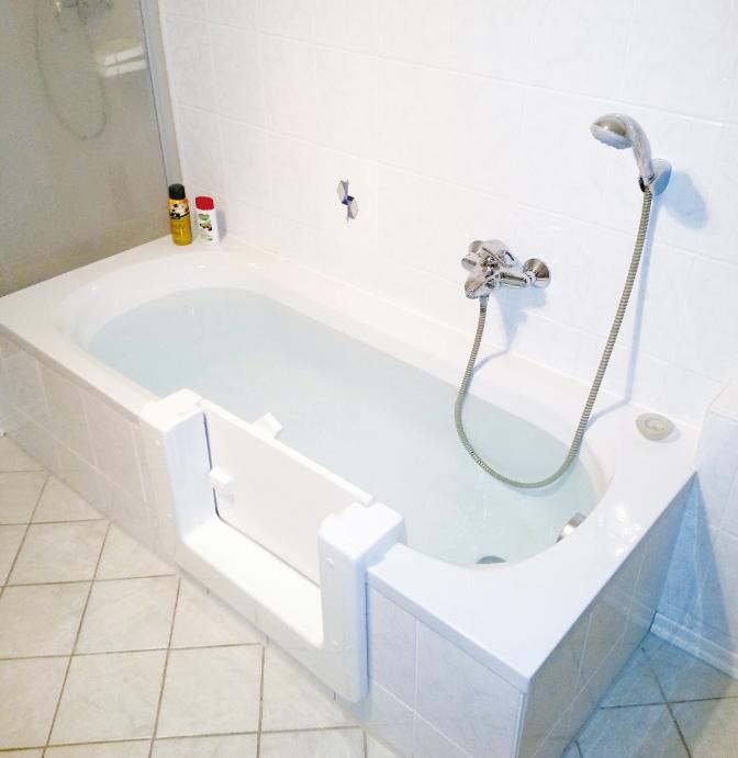 Barrieren im Badezimmer reduzieren