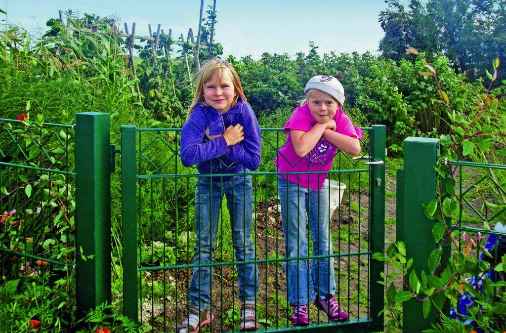 Einfacher Zaun, doppelter Schutz