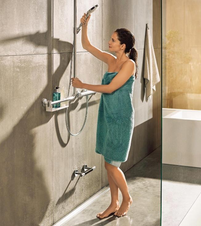 Das Bad für morgen unterstützt auch heute schon: